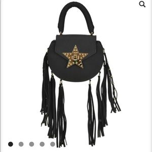 SALAR MINI FRINGE BAG